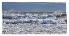 Sea Mist Beach Sheet by Tricia Marchlik
