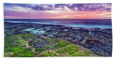 Sea Moss Sunset Beach Towel