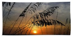 Sea Oats Beach Towel by Dan Wells