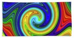 Sea Of Colors Beach Towel