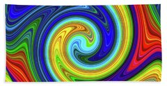 Sea Of Colors Beach Sheet