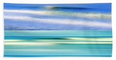 Sea Of Dreams Collage Beach Sheet