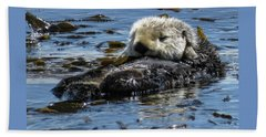 Sea Otter Beach Towel