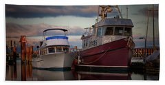Beach Towel featuring the photograph Sea Rake by Randy Hall