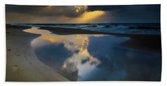 Sea Reflections Beach Towel