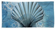 Sea Scalop Beach Towel