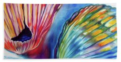 Sea Shell Abstract II Beach Towel