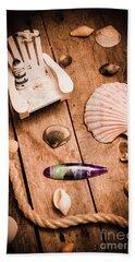 Sea Shell Decking Beach Towel
