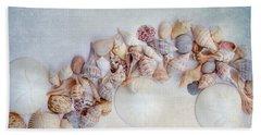 Sea Shells 4 Beach Towel by Rebecca Cozart