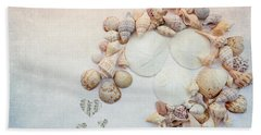 Beach Towel featuring the photograph Sea Shells 5 by Rebecca Cozart