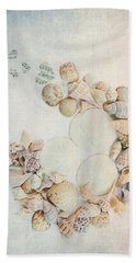 Beach Towel featuring the photograph Sea Shells 7 by Rebecca Cozart
