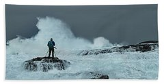 Sea Spray Beach Towel