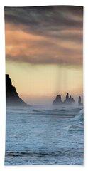Sea Stacks Beach Towel by Allen Biedrzycki