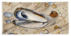 Sea Treasures - Northwest Coast Washington State Beach Towel