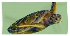 Sea Turtle 2 Beach Towel