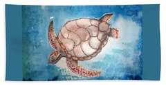 Sea Turtle Beach Towel