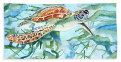 Sea Turtle Series #1 Beach Towel