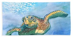 Sea Turtle Series #2 Beach Towel