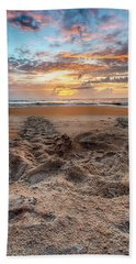 Sea Turtle Trails Beach Towel
