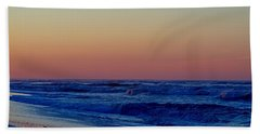 Beach Towel featuring the photograph Sea View by  Newwwman