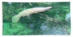 Sea Whale Beach Towel