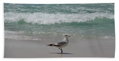 Seagull Beach Towel by Megan Cohen