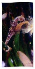 Seahorse Beach Sheet by Ana Mireles