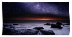 Search Of Meaning Beach Sheet by Jorge Maia