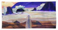 Sea Dog Beach Towel