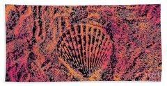 Seashell Delight Beach Towel by Rachel Hannah