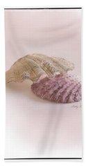 Seashell Love Beach Towel