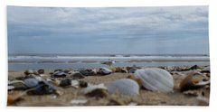 Seashells Seagull Seashore Beach Towel