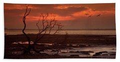 Seashore At Dawn Beach Towel