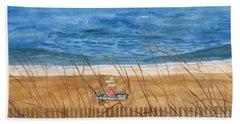 Seaside In Massachusetts Beach Towel