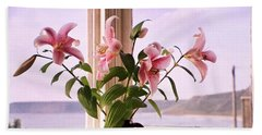 Seaside Lilies Beach Sheet