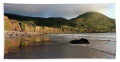 Seaside Reflections, County Kerry, Ireland Beach Towel