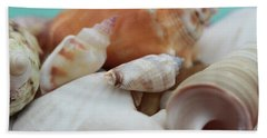 Seaside Seashells Beach Towel