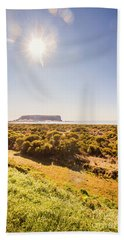 Seaside Stanley Scene Beach Towel
