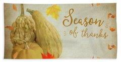 Season Of Thanks Beach Sheet