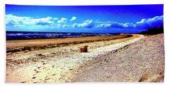 Seat For One Beach Sheet by Douglas Barnard