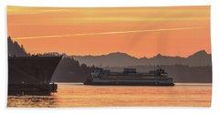 Seattle - Bremerton Ferry Beach Towel