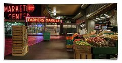 Seattle Public Market 2 Beach Sheet