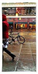 Seattle Rain Beach Sheet