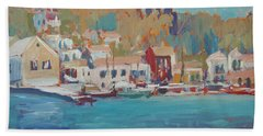 Seaview Lggos Paxos Beach Towel