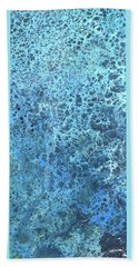 Seawater Froth Beach Towel