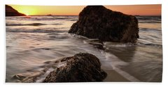 Seaweed Singing Beach Beach Towel
