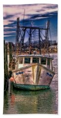 Seaworthy II Bristol Rhode Island Beach Sheet by Tom Prendergast