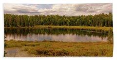 Secluded Lake Beach Sheet
