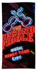 Second Fiddle Beach Towel