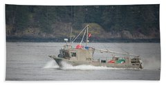 Beach Towel featuring the photograph Second Wind by Randy Hall